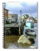 Peggys Cove Ns 001 Spiral Notebook