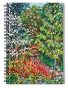 Peggys Garden Spiral Notebook