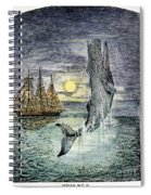 Pehe Nu-e: Moby Dick Spiral Notebook
