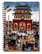 Peking: Commercial Center Spiral Notebook