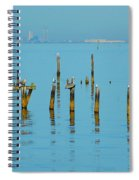 Pelican And Mobile Spiral Notebook