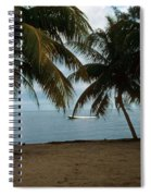Pelican Beach Belize Spiral Notebook