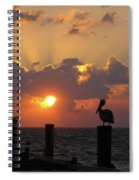 Pelican Dawn Spiral Notebook