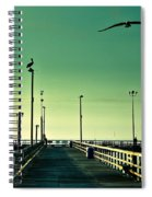 Pelican On Watch Duty Spiral Notebook