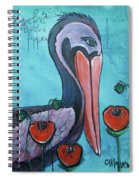 Pelican Poppies 1 Spiral Notebook