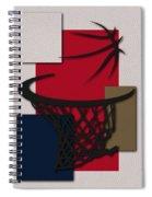 Pelicans Hoop Spiral Notebook
