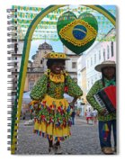 Pelourinho - Historic Center Of Salvador Bahia Spiral Notebook