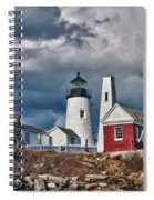 Pemaquid Point Lighthouse 4821 Spiral Notebook