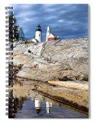 Pemaquid Reflection Spiral Notebook