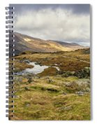 Pen Yr Ole Wen And Tryfan Mountain Spiral Notebook