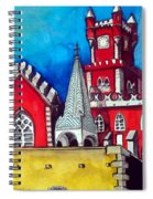 Pena Palace In Portugal Spiral Notebook