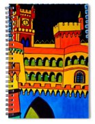 Pena Palace Portugal Spiral Notebook