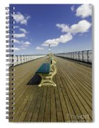 Penarth Pier 9 Spiral Notebook