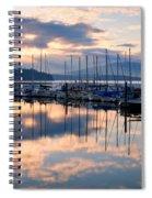 Pend Oreille Sailboats Spiral Notebook