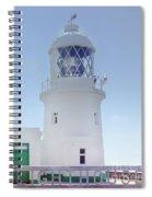 Pendeen Lighthouse Cornwall Spiral Notebook