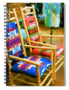 Pendleton Chairs Spiral Notebook