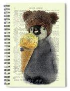 Penguin Ice Cream Spiral Notebook