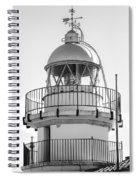 Peniscola Lighthouse Of Spain Spiral Notebook