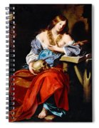 Penitent Mary Magdalene Spiral Notebook