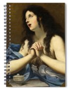 Penitent Saint Mary Magdalene Spiral Notebook