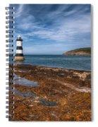Penmon Lighthouse Spiral Notebook