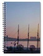 Penns Landing Sunrise Spiral Notebook