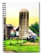 Pennsylvania Farming  Spiral Notebook