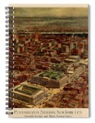 Pennsylvania Station 1910 Spiral Notebook