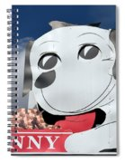 Penny Dog Food Sign 3 Spiral Notebook