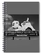 Penny Dog Food Sign Photoart Spiral Notebook