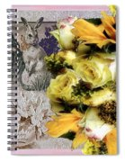 Penny Postcard Easter Spiral Notebook