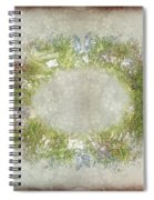 Penny Postcard Rustic Spiral Notebook
