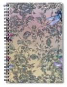 Penny Postcard Tiffany Spiral Notebook