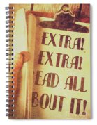 Penny Press Journal Spiral Notebook