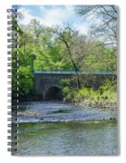 Pennypack Creek Bridge Built 1697 Spiral Notebook