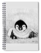 Penquin Chick Spiral Notebook