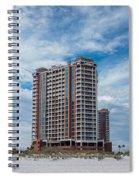 Pensacola Beach Resort Spiral Notebook