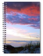 Pensacola Sunset After The Storm Spiral Notebook