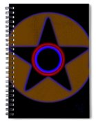 Pentagram Spiral Notebook