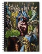 Pentecost Spiral Notebook