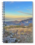 Penticton In The Distance Spiral Notebook