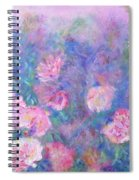 Peonies Spiral Notebook