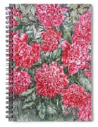Peonies Love Spiral Notebook