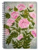 Peony Bush   Spiral Notebook