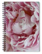 Peony Close Up Spiral Notebook