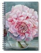 Peony Memories Spiral Notebook