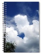 People In The Clouds Spiral Notebook