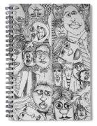 People People People Spiral Notebook