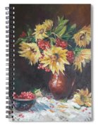 Still-life With Sunflowers Spiral Notebook