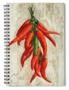 Peperoncini Spiral Notebook